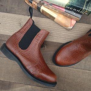 DOC MARTEN Flora Croc Chelsea Boots
